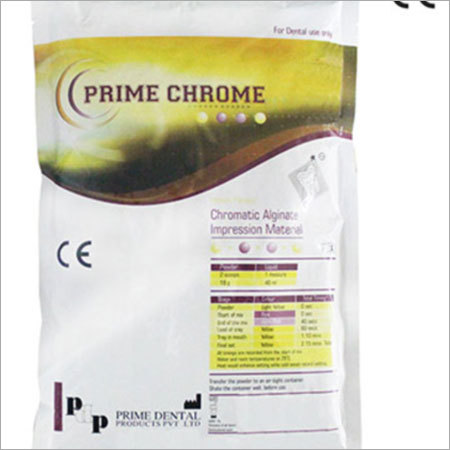 Prime Chrome Alginate Impression Material