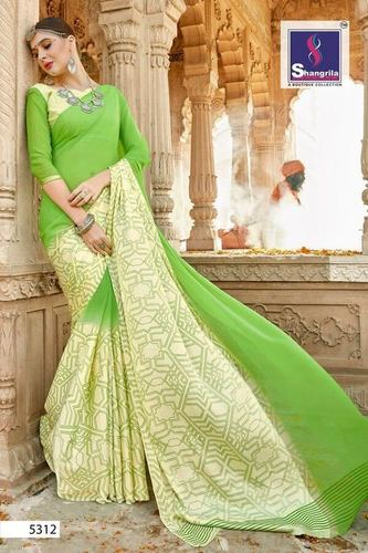 Daily Wear Georgette Designer Saree