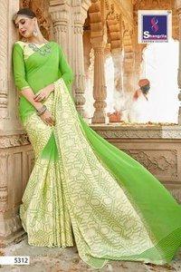 Daily Wear Georgette Designer Saree