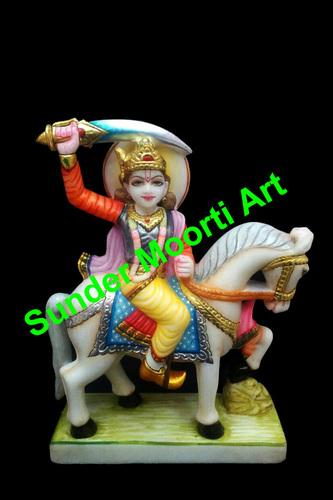 Marble Kalki Avatar Statue