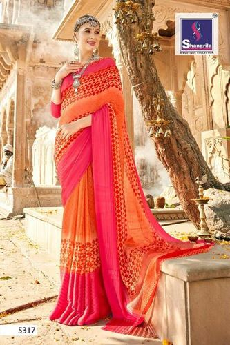 Georgette Weight Less Saree