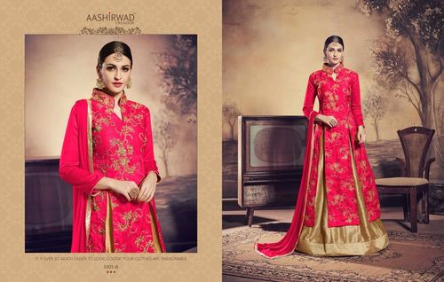 Banglori Silk Designer Party Wear Suit