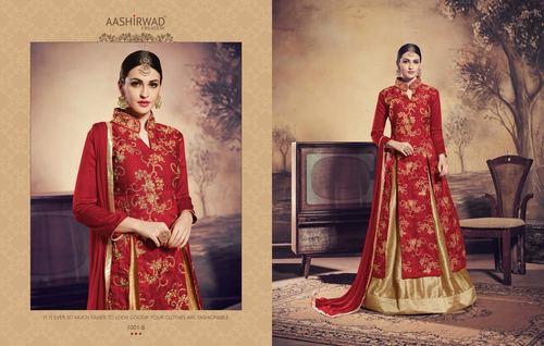 Banglori Silk Designer Party Wear Salwar Kameez