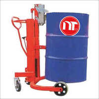 Manual Oil Tank Lift Truck