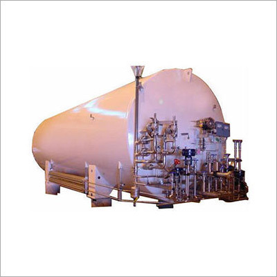 Vacuum Insulated Liquid Argon Cryogenic Storage Tank