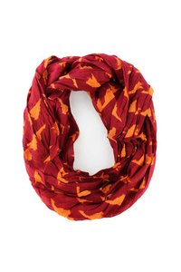 Orange Red Virginia Tech Scarf