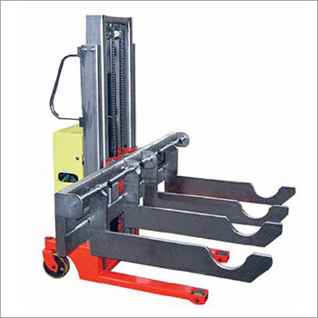 Semi-Powered Stacker Tray truck Pallet Truck
