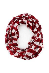 Alabama Red/White Women Neck Wear Scarves