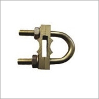 Copper Bonded Rod U Bolt Clamp