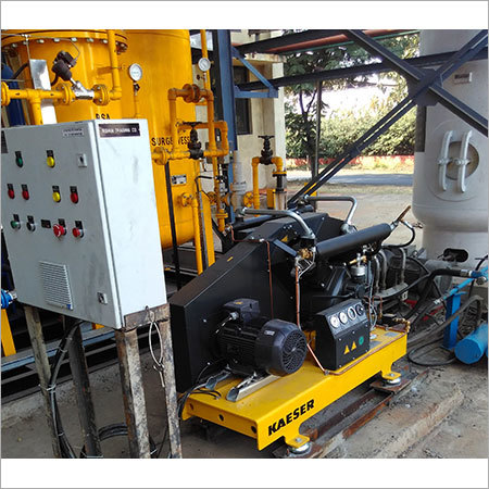 Nitrogen Gas Plant with Booster Compressor