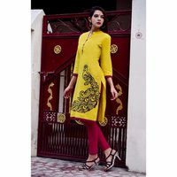 Ladies Cotton Printed Kurti