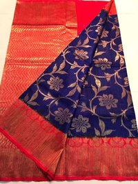 Banarasi Pure Dupiyan Silk Handloom Traditional Sa