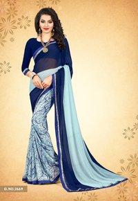 Stylish Printed Weightless Saree