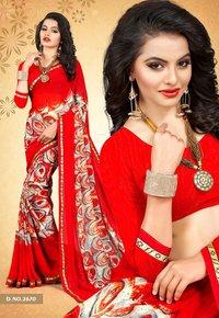 Royal Weightless Printed Saree