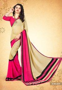 Beautiful Weightless Printed Sareed