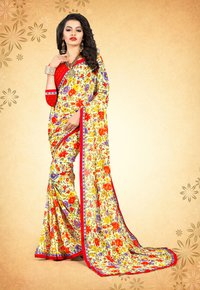 Classic Weightless Printed saree