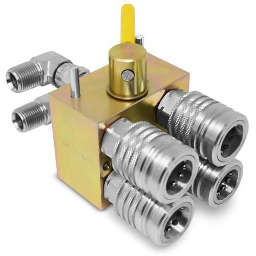 Manual Hydraulic Multiplier, SCV Splitter