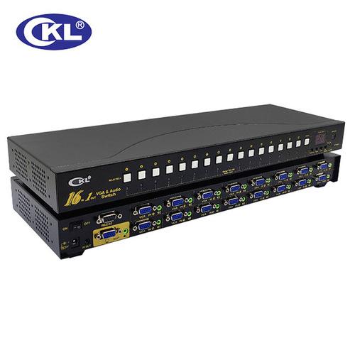 CKL 161S 16 Port Auto VGA Audio Swit