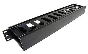 19'' Rack Mount Finger Type Wire Manager