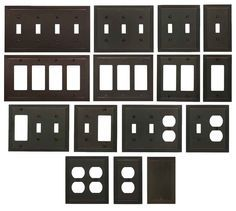 Switch Plate Outlet Cover Wall Rocker