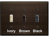 Oil Rubbed Bronze Light Switch Plates