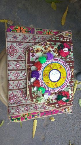 Embroidered Canvas banjara Bag