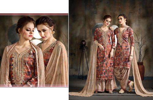 Designer Printed Patiyala Salwar Suit