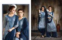 Designer Cotton Patiyala Salwar Kameez