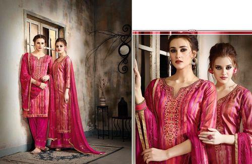 Printed Cotton Patiyala Salwar Suit