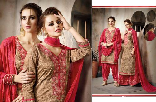 Printed Patiyala Salwar Kameez