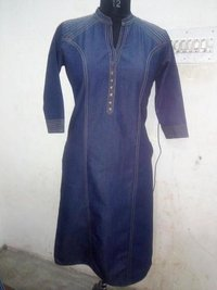 Fancy Denim Kurti