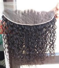 Natural Remy Curly Transaprent Swiss Lace Hair