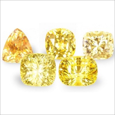 Yellows Sapphire Gemstone