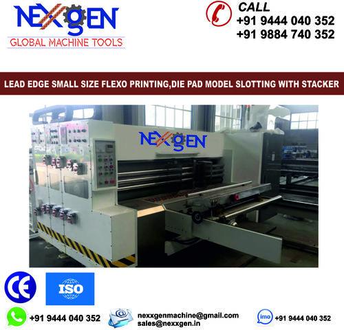 Lead Edge Printer slotter Machine