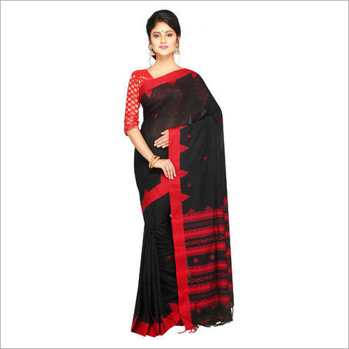 Womens Khadi Cotton Saree