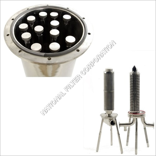 Stainless steel filter cartridge housing