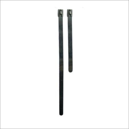 Uncoated Stainless Steel Cable Ties
