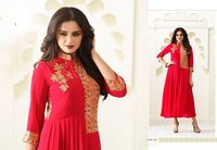 Designer Long Embroidered Kurtis