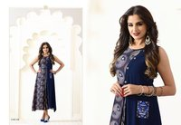 Digital Print Long Ready Made Kurtis