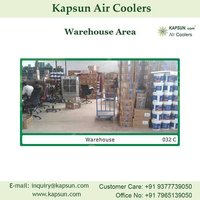 Industrial Commercial Air Cooler used For Warehouse Area..