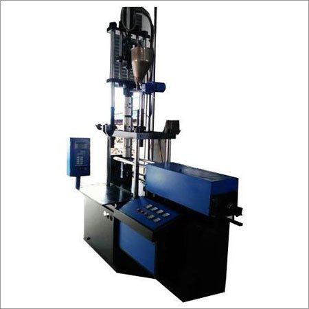 Vertical Closure Injection Molding Machine