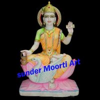Marble Gayatri Mata Moorti
