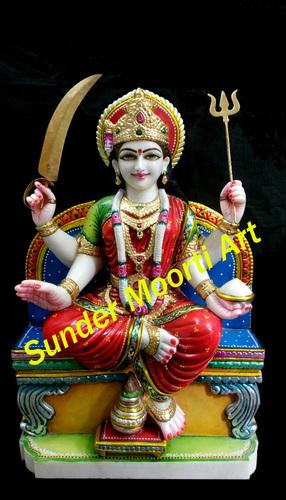 Santoshi Mata Marble Moorti
