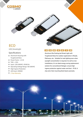 Icon Plus Led Street Light
