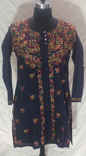Unique Cotton Embroidery Kurti