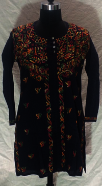 Unique Cotton Embroidery Kurti