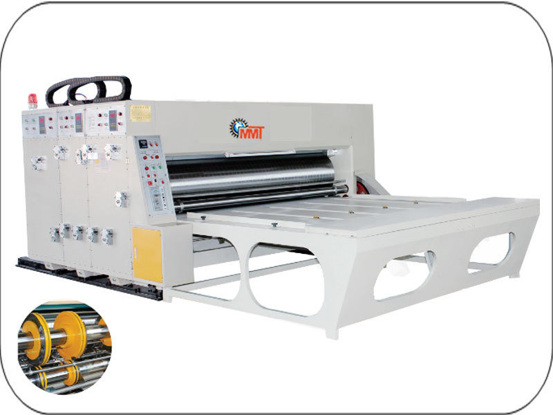 Auto Feed Single Color Flexo Printing Rotary Die C