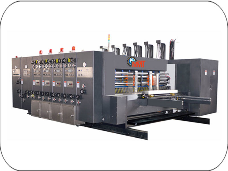 Carton Board Printer And Slotter Machine