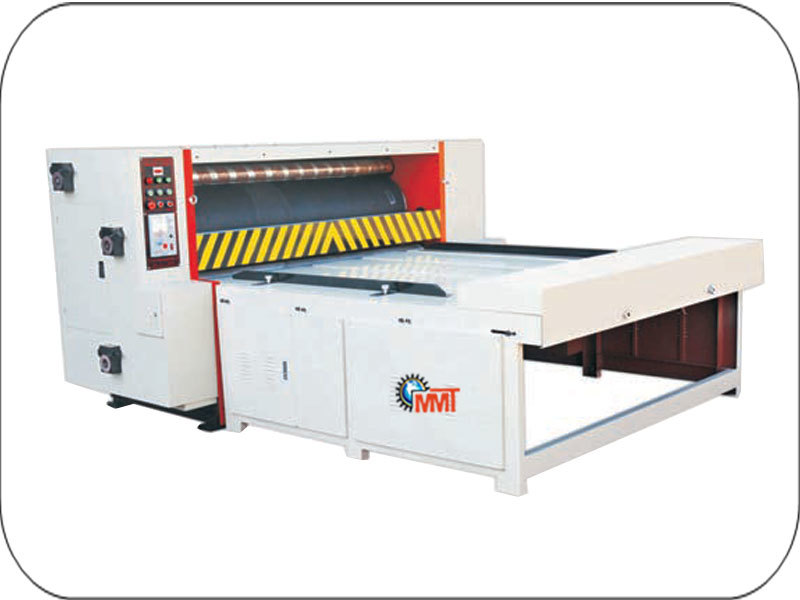 Automatic Heavy Duty Flat Bed Die Punching Machine