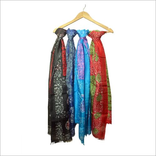 Batik Silk Stoles
